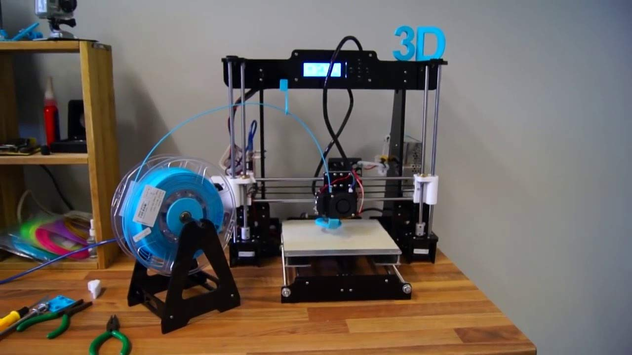 3d Printer Anet A8 With Black Frame Printing Size